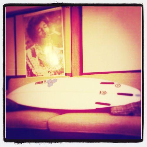 Surfboard #teamgizzyboyyforever Jimi Hendrix Surfing