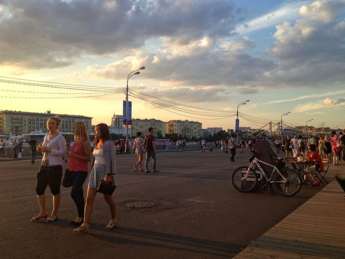 Sunset in Moscow GetYourGuide Cityscapes