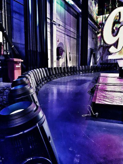 Today did studio work and installed 80 Robe Pointe's Taking Photos I Love My Job! TV Studio Studio 100 Showlights Working Hard