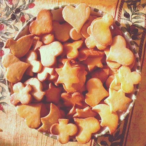 Christmas Christmas cookiesSweet Heart Duck Flower Star Gooood <3
