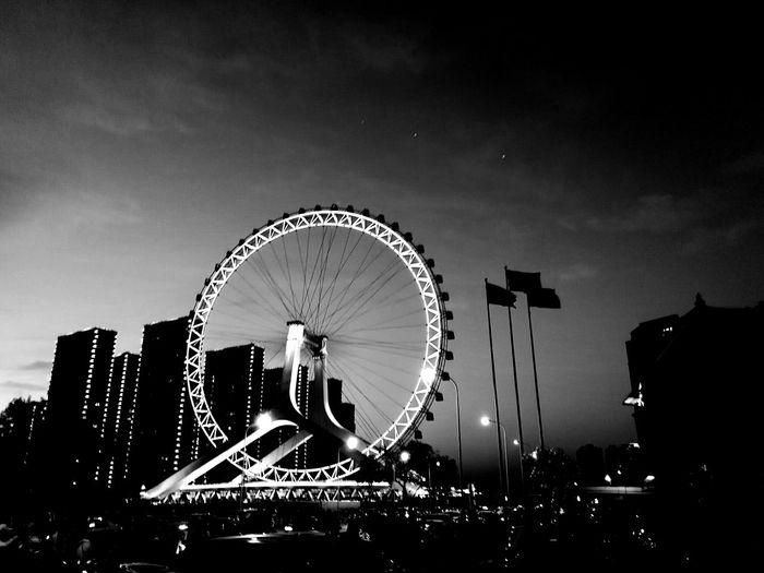 city Ferris Wheel Amusement Park Arts Culture And Entertainment Amusement Park Ride Circle Big Wheel Night EyeEmNewHere
