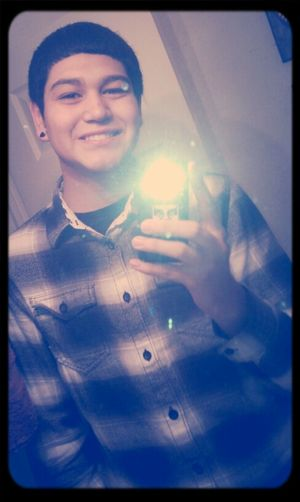 Idgaf I thought this flannel was fresh c:
