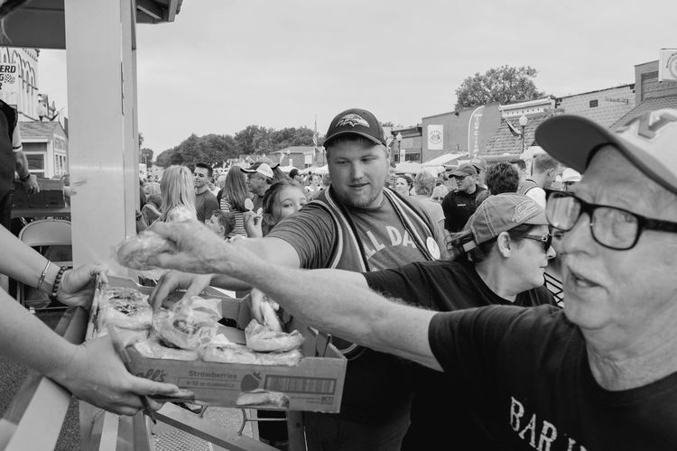 56th Annual National Czech Festival - Saturday August 5, 2017 Wilber, Nebraska Americans Camera Work EventPhotography FUJIFILM X100S Main Street USA Nebraska Photo Essay Small Town America Visual Journal Wilber, Nebraska Culture And Tradition Czech Days Czech Festival Day Kolace Eating Contest Kolace Large Group Of People Men Monochrome Outdoors Parade People Photo Diary Real People Street Photography Streetphoto_bw Streetphotography
