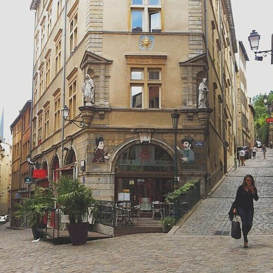 Old City ! Travel Europe Cityscapes France Street Architecture Discover Your City Old Buildings Walking Around Frenchgirl