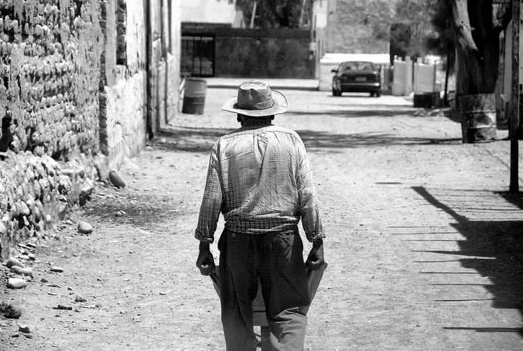 Blackandwhite Photography Chile Real People
