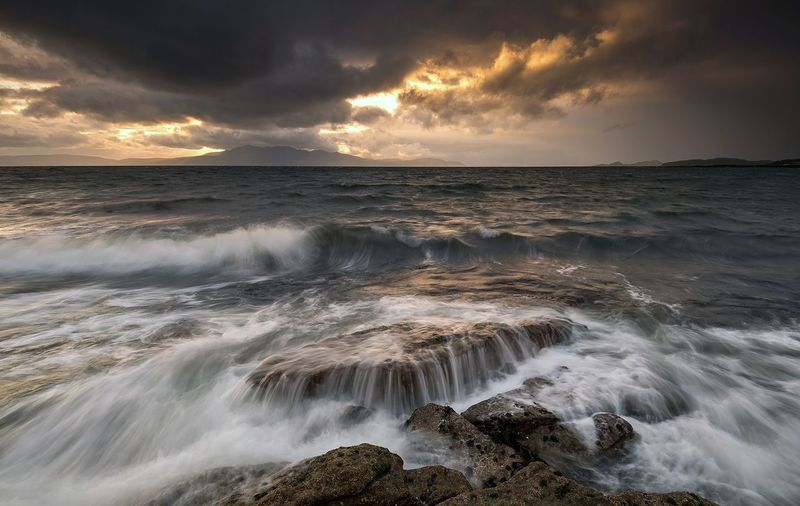 EyeEm Selects stormy sunsets Sea Sunset Seascape Dramatic Sky EyeEm The Best Shots Skye Isle Of Skye EyeEm Selects EyeEm Best Shots Scotland Landscape Photography EyeEm Best Edits EyeEm Masterclass Travel Destinations Sunny EyeEm Best Shots - Nature