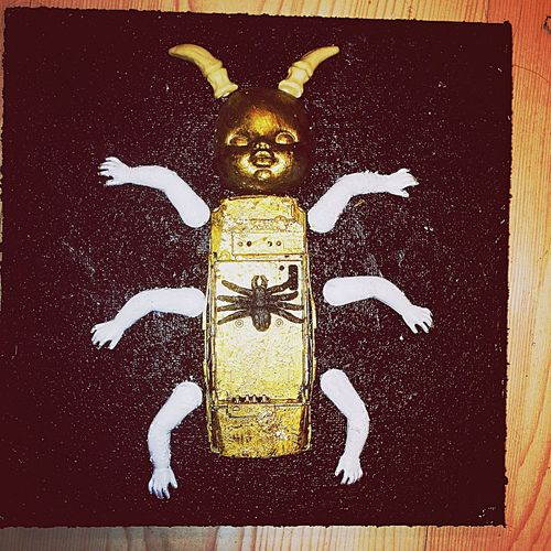 Beetle Skalbagge Insect Insekt Dollart Docka Art Konst Painting Målning