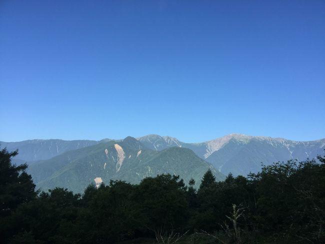 2018.07.21 #夜叉神峠 より。 Mountain Sky Tree Scenics - Nature Blue Beauty In Nature Plant