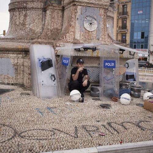 Devrimci Polis Taksim Occupygezi direngeziparki direnis acab istanbul meydan eylem slogan police cop copper resist
