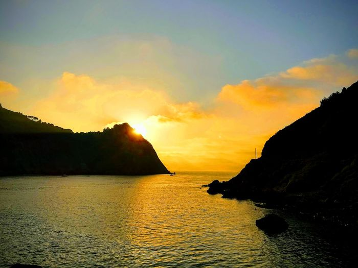 Sunset in San