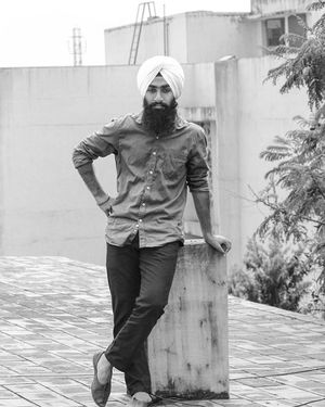 Think high..... Live simple !💪 Punjab Chennai Gill Jatt Beard Jutti Jalsa Annanagar