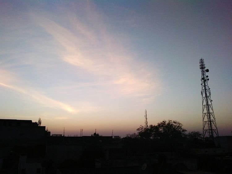 Sky Sunset Silhouette Built Structure Nature Outdoors No People Architecture Building Exterior Beauty In Nature Day Sky And City No People, Beauty In Nature Skyviewers Skycollection Skyblue Sky Photography Skyandclouds  Sky_scapes Skyview Cloud - Sky City Nature Skylove