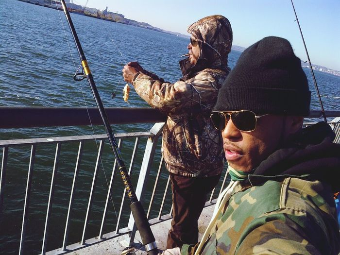 Fishing with my dad Enjoying Life Fishing Time Went Fishing