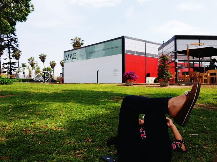 Reading and resting at the Museum The Mix Up MAC Lima Lima Perú Newvsco EyeEm Showcase June