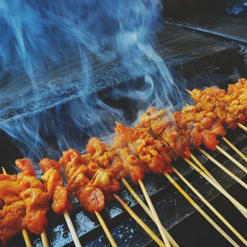 Colour Of Life Sataychicken Asian  Smoke Hot Foodphotography