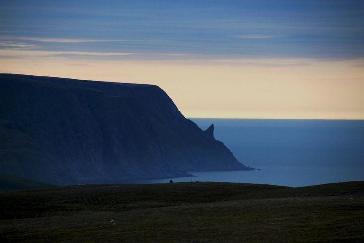 Nordkap  Nordkaphörnchen Norway🇳🇴 Beauty In Nature Mountain Nature Rock Scenics - Nature Sea Water