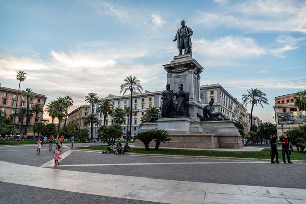 Piazza Cavour in historical city centre of Rome Cavour City City Life Cityscape Italy Landmark Piazza Roma Rome Square Sunset Travel Travel Destinations Urban