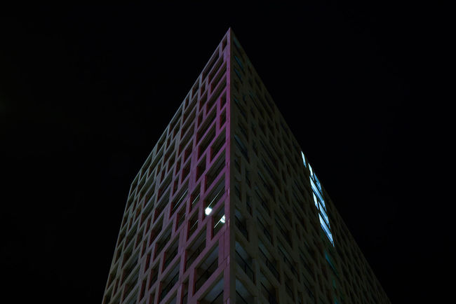 Architecture Architecture Black Background Low Angle View Night Night Photography Nightphotography No People Urban Architecture Urban Geometry Urban Photography Vienna Wien The Architect - 2017 EyeEm Awards