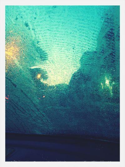 Goodmorning EyeEm  Ice Frozen Window Car