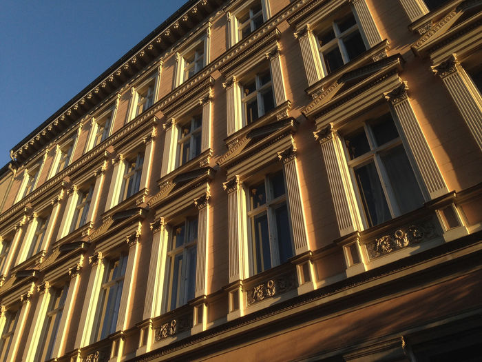 Altbauwohnung Angles Architecture Architecture Berlin Building Exterior Built Structure Charming City Europe Façade Historic Low Angle View No People Old-fashioned Outdoors Prenzlauerberg