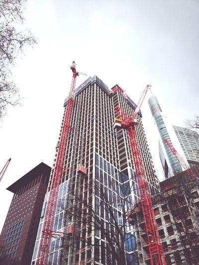 Frankfurt Am Main Craneaddicted  Lookingup We Build This City