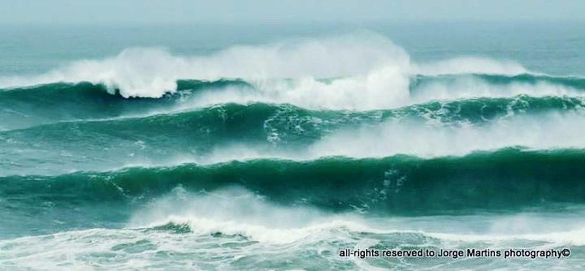 Waves Storm Ocean