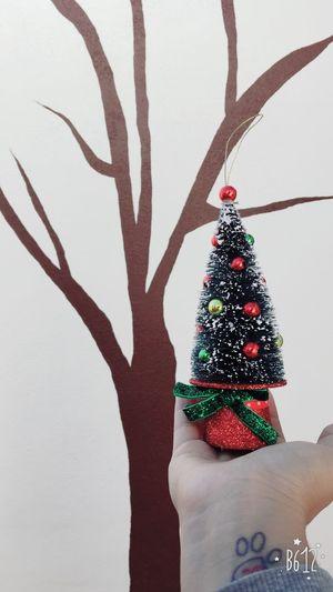 Minitree Christmas Christmas Tree Holiday - Event ✨🎄🎄✨🎅🏻🎅🏻✨🎄🎄✨I am painting a tree on the wall but I still do not finish it ☺️🤗😉🌳
