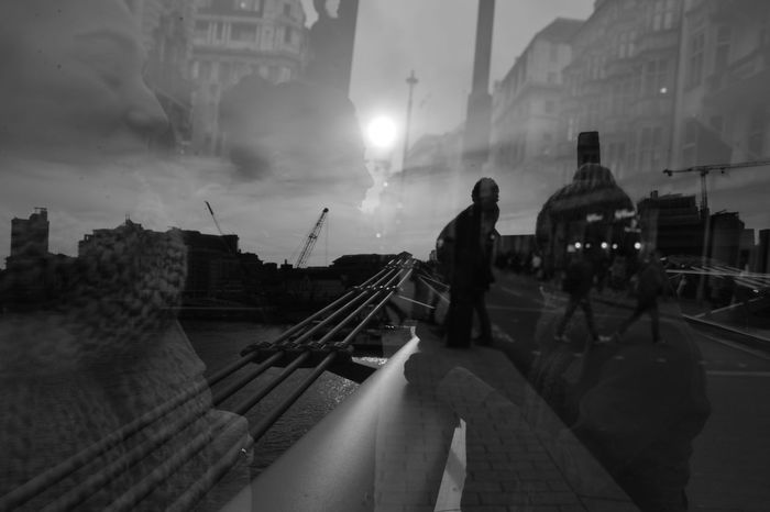 Streetphotography B&w Street Photography Showcase: DecemberLight And Shadow Merged Streetphotography Urbanphotography London