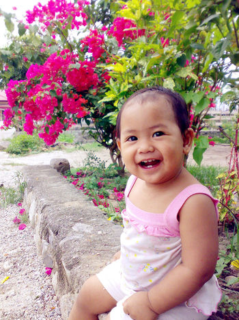 one year old Balqis.. Cute Baby Potrait Little Girl My Little Sister