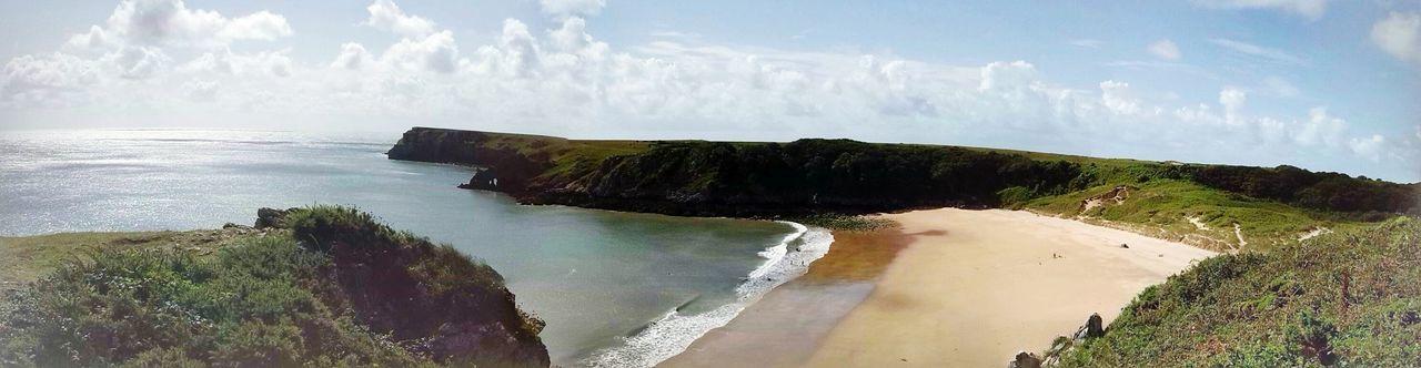Barafundle Bay Wales UK Beach Pembrokeshire