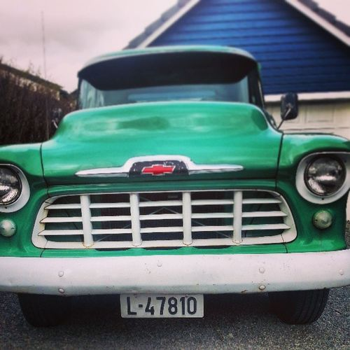 Chevrolet Bil MAI Garasje haugesund tirsdag blå grønn grill