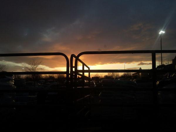 March 5, 2012. Boise, Idaho Clouds Sky Skyporn Sunset