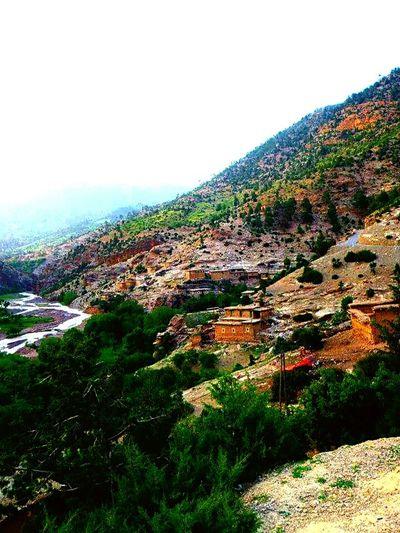 Colors Of Nature Mountain View Ait Boughmez Morroco Atlas Enjoying Life Colorful Berbere Life