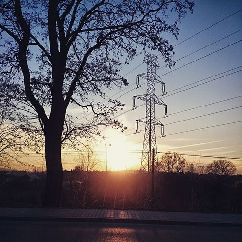 Sunset Pretty Sun Is Going To  Sleep Look At This Going To  Musicschool Landscape Goodlooking Day Instapic Polishboy  Normal Day In Poland VSCO Vscopoland