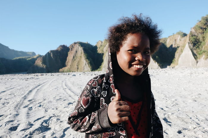 One of the Aeta kids of Mount PInatubo in the Philippines. This human, looking so beautiful #Adventure #Mountain #Nature  #earthling #hiking #love #peace #sunset #sun #clouds #skylovers #sky #nature #beautifulinnature #naturalbeauty #photography #landscape