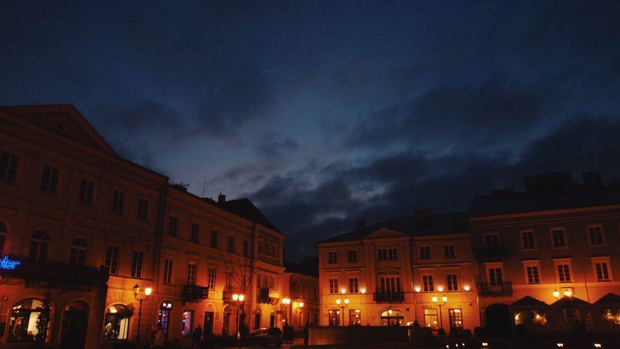 Vscocam Night Piotrków Trybunalski