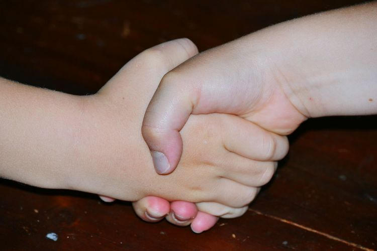 Human Body Part Human Hand Hand Body Part People Fingernail Close-up Outdoors Friendship Day Space Kids Handsake Live For The Story Granddaughter Grandson Let's Go. Together.