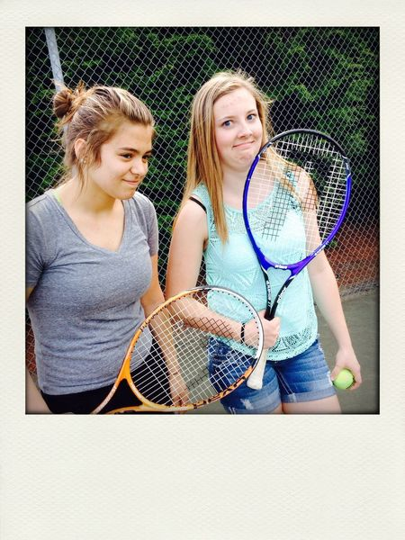 TBT to tennis times . ??? Friend ✌ Sunny☀ Awkard Odd