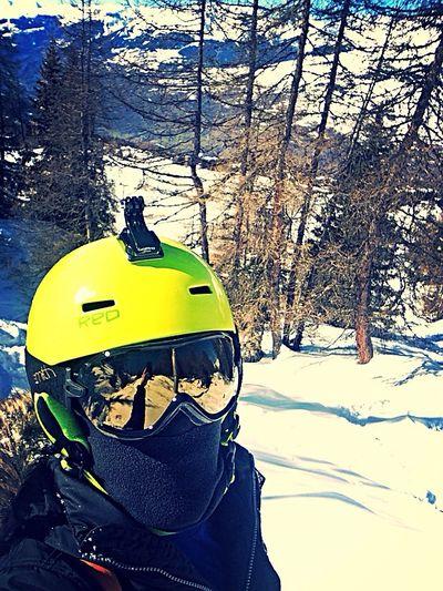 Gopro Ski Forest Sport