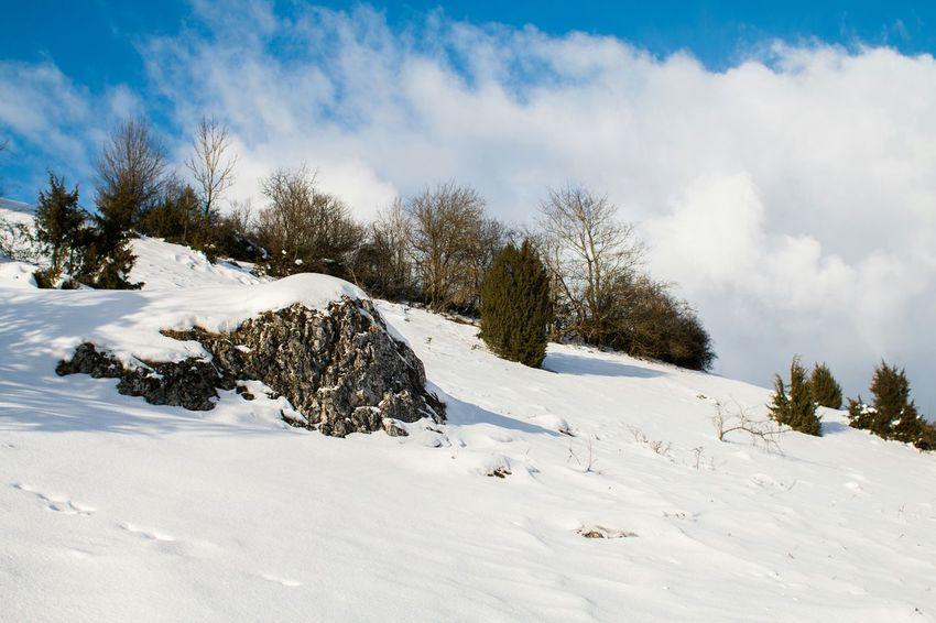 Frozen Swabian Alb Schwäbischealb Schnee Snow Winter