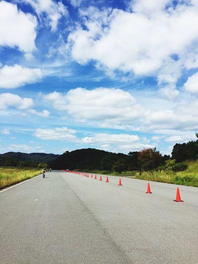 初めてのサイクリング🚴 サイクリング 広島空港 広島 Japan Cycling リフレッシュ Fine Weather Happy
