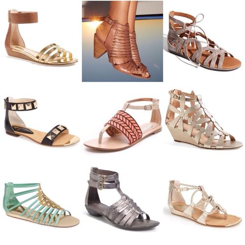 Short Gladiator, cutes! *pinterest Shoes By ITag Lifestyle By ITag Me Want It! | ITag