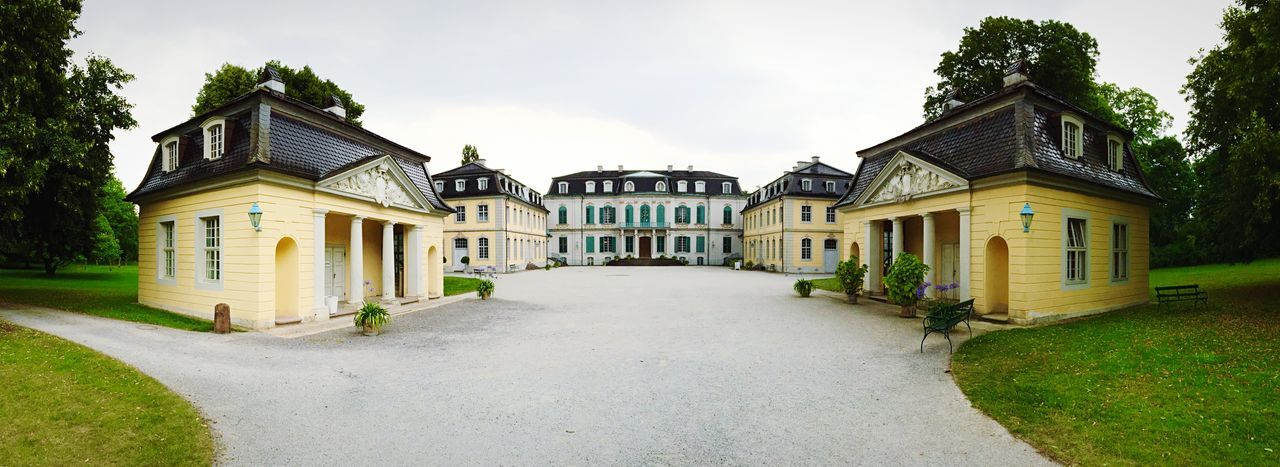 Schloss Wilhelmstal Panorama Panoramic Streetphotography Walking Around Castle Schloss Historical Historical Building Architecture Kassel