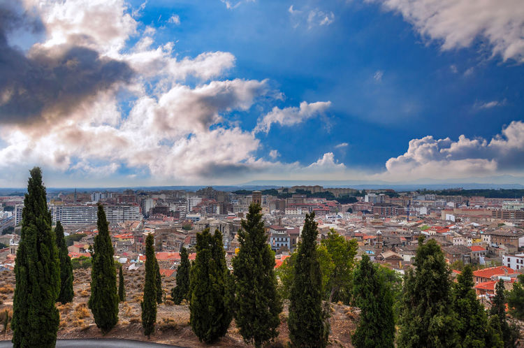 Cityscape Cloud - Sky Outdoors City No People Day Panoramic Landscape Sky Architecture Mountain Building Exterior Horizon Over Water Tree Spain🇪🇸 Tudela Tree SPAIN Cityscape City Cityscape Photography