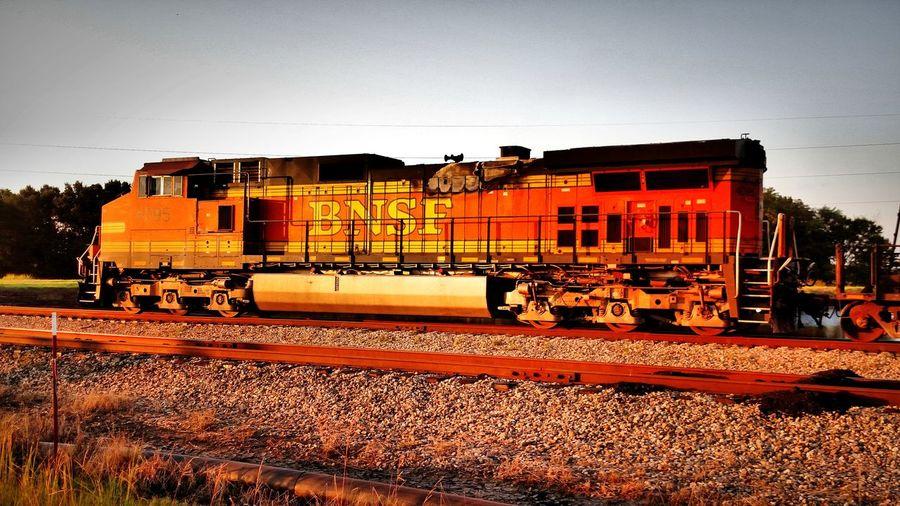 Sunrise Train Train Station Train Tracks BNSF Trains Bnsf Coal Coalmine Coal Power Plant Eyem Machinery