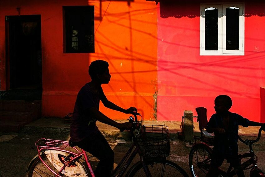 Mattancherry, Kerala, India Colorful Travel Street Streetphotography India Kerala Silhouette Play Light Light And Shadow Composition People Shadows Kochi Streetphoto