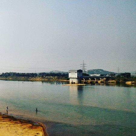 River Riverside Riversofindia Rivergram Instariver Indianriver Instapic Instadaily Ig_india Ig_odisha Camerateur Amateurphotographer  Amazing Scene Scenery Picturesque Calm Serene Spellbound Mesmerizing Snapped during a Pitstop while on a Roadtrip Life Ontheroad nomad forever pixelpanda_india naturephotography