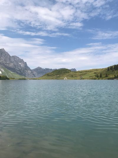 Engelberg Trübsee! Wunderschöner Ort ❤️ Love Engelbergtrübsee Engelberg Schweiz Water Sky Cloud - Sky Beauty In Nature Scenics - Nature Mountain Tranquility Lake Waterfront Day Outdoors Non-urban Scene Tranquil Scene Rippled Tree No People Nature Architecture Idyllic