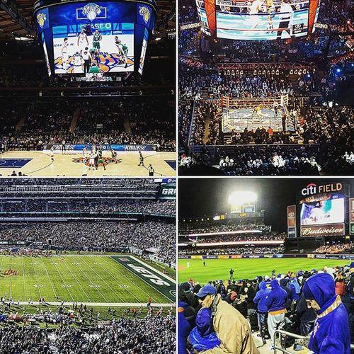 Epic Sports Weekend Sports Madisonsquaregarden MSG Knicks Gennadygolovkin Ggg Golovkinlemieux Newyorkjets Jetsredskins NFL Newyorkmets Metscubs NLCS Playoffs