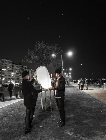 Best EyeEm Shot Celebration Izmir NewYear Nightphotography Tourist Attraction  Turkey Türkiye Bestoftheday Bike Biycle Fairy Lights Izmirlife Light And Shadow Sky Lantern Tourist Destination